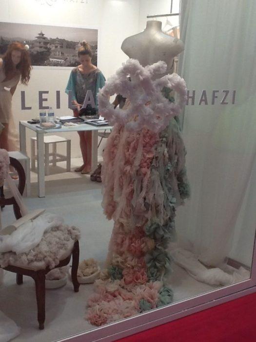 Leila Hafzi a Sì Sposaitalia 2012 - Foto Thed Dress