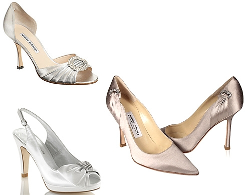 Foto: Manolo Blahnik, Jimmy Choo e NOVIAS by FOSCO