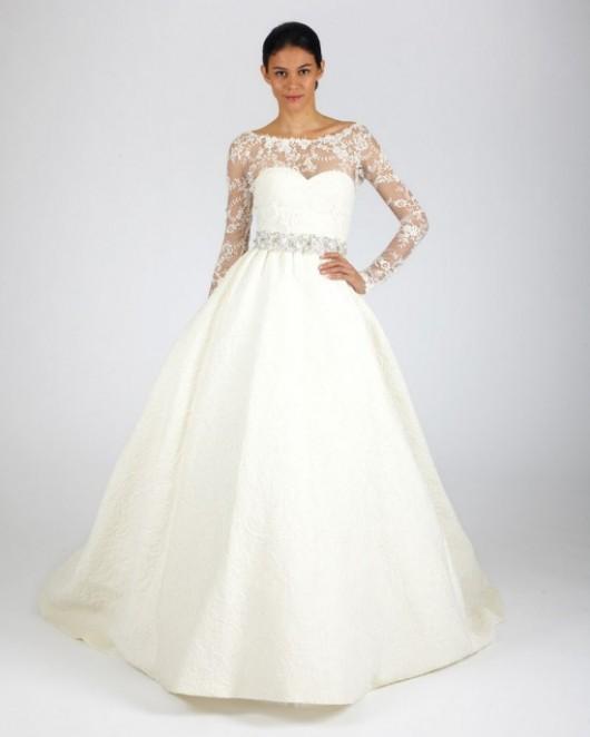 abito da sposa Oscar de la Renta Fall 2013
