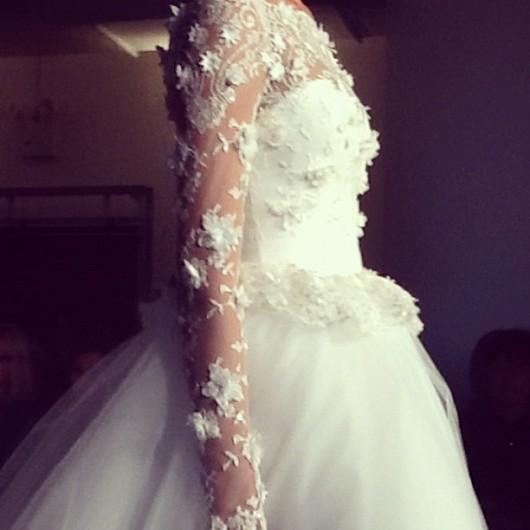 abito da sposa Marchesa Fall 2013 - Photo Brides