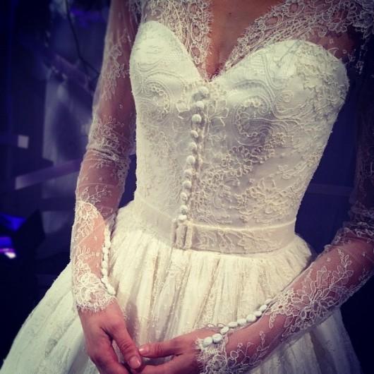 abito da sposa Dennis Basso Fall 2013 - Photo colinweddings