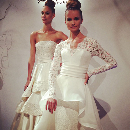 abito da sposa Dennis Basso Fall 2013 - Photo Kleinfeld Bridal