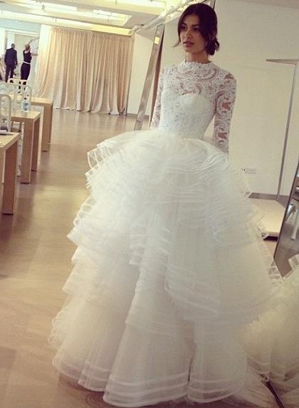 abito da sposa Oscar de la Renta Fall 2013 - Photo modahaolicsbysu