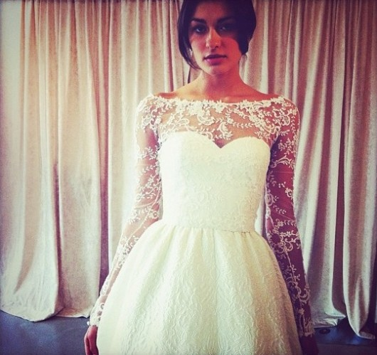 abito da sposa Oscar de la Renta Fall 2013 - Photo bridesmag