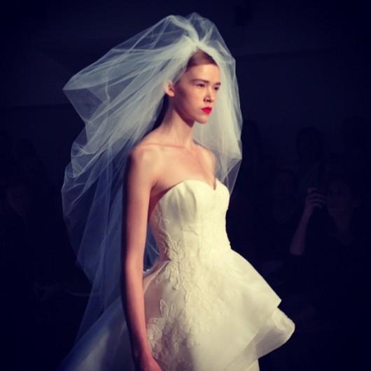 abito da sposa Chrysler Amsale 2013 - Photo dbave on Instagram