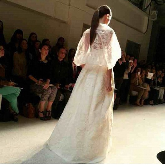 abito da sposa Chrystie Amsale 2013 - Photo bu_dah on Instagram