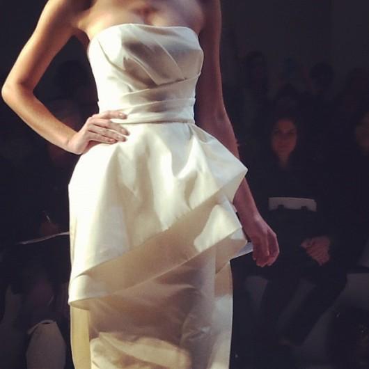 abito da sposa Hudson Amsale 2013 - Photo bridesmag on Instagram