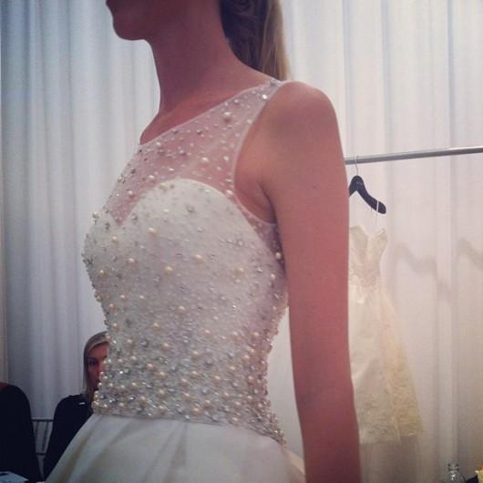 abito da sposa Plaza Amsale 2013 Photo thewhitedress on Instagram