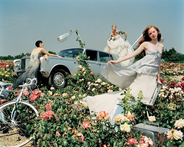 "Tim Walker per British Vogue Dicembre 2004, sevizio ""The Vogue Pantomime"""