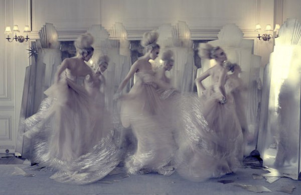 Tim Walker per UK Vogue - Marzo 2009 - The Snow Queen