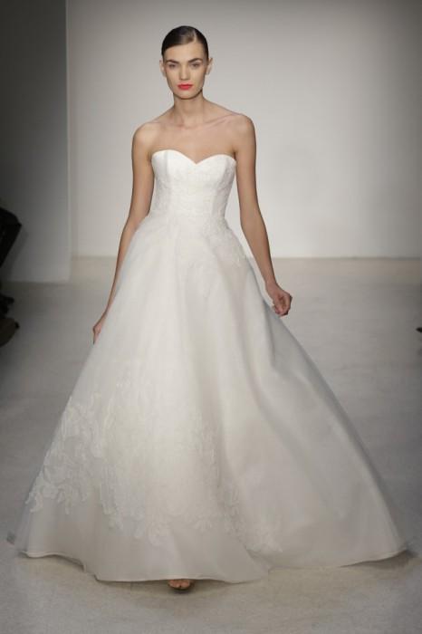 abito da sposa Waldorf Amsale 2013 Photo wwd.com
