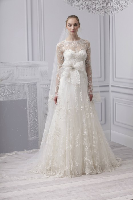 Abito da sposa Josephine Monique Lhuillier Spring 2013 Platinum Collection