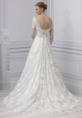 abito da sposa Treasure Monique Lhuillier Spring 2013