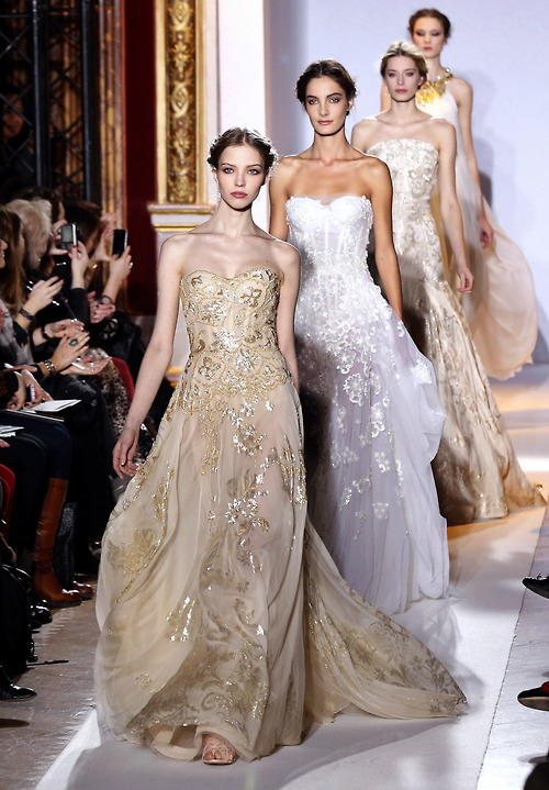 Zuhair Murad Haute Couture Spring-Summer 2013 Getty