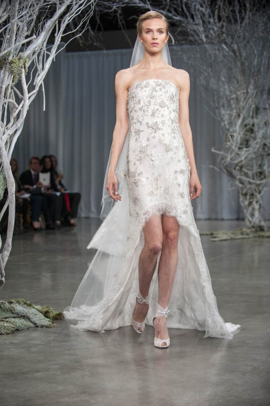 abito da sposa Charm Monique Lhuillier Fall 2013 foto Huffington Post