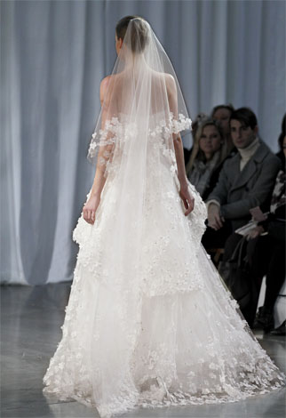abito da sposa Crescendo Monique Lhuillier Fall 2013