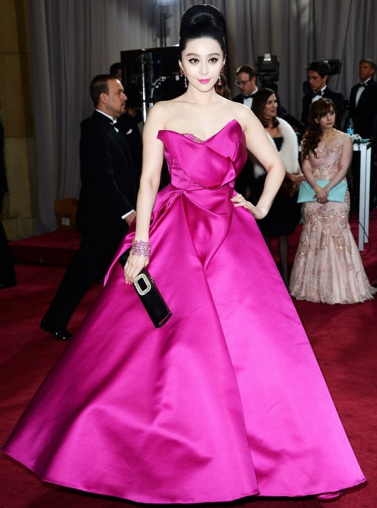 Fan Bingbing in Marchesa Fall 2013 Oscars 2013