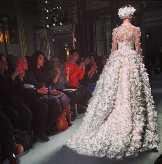 Georges Hobeika haute couture Spring-Summer 2013 abito da sposa foto lomodecnus on Instagram