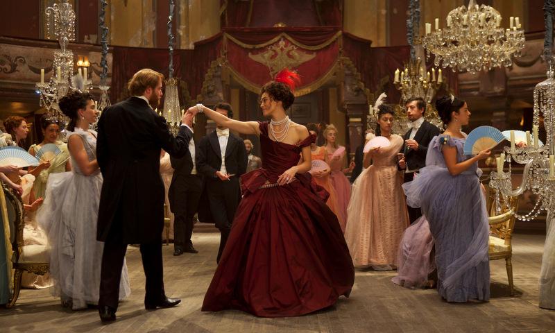 Keira Knightley in Anna Karenina film