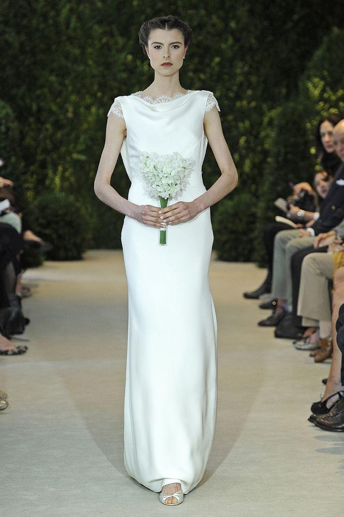 Angelica Carolina Herrera Sposa Spring 2014