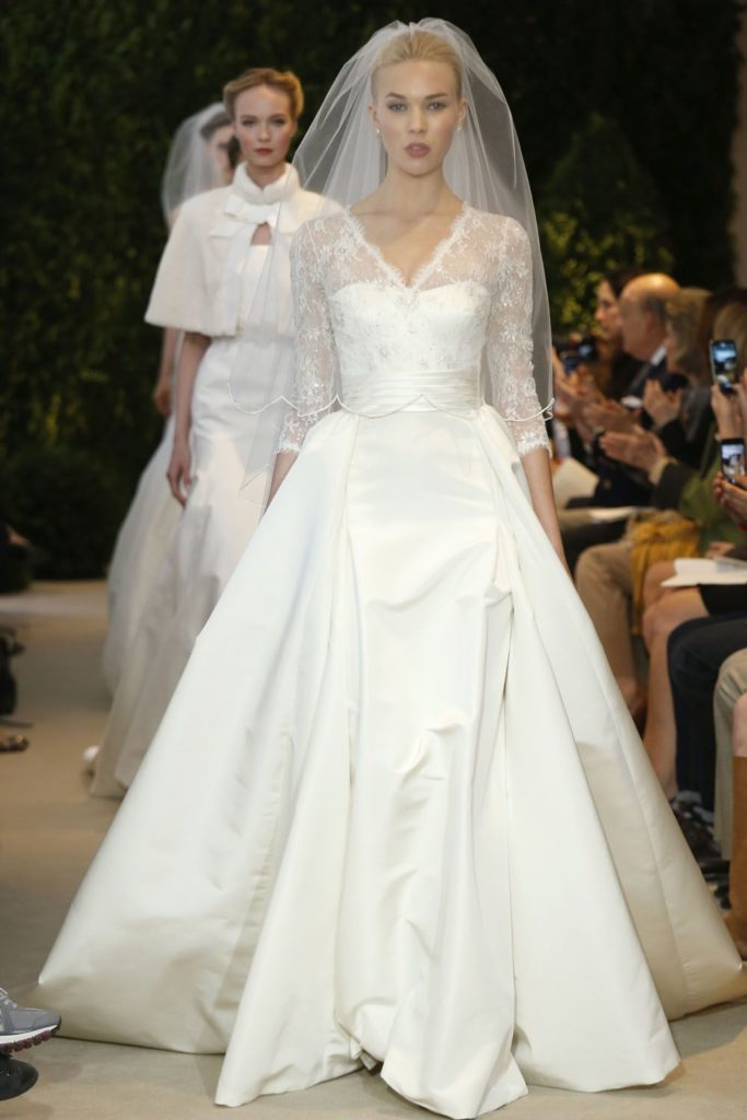 Annemarie Carolina Herrera Sposa Spring 2014