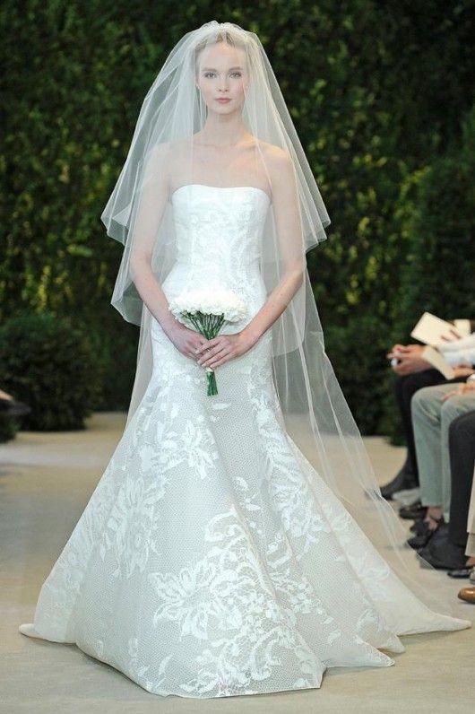 Astrid Carolina Herrera Sposa Spring 2014