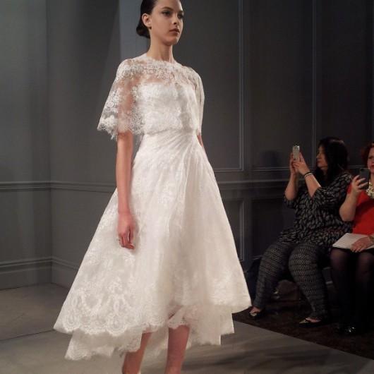 abito da sposa Monique Lhuillier Spring 2014