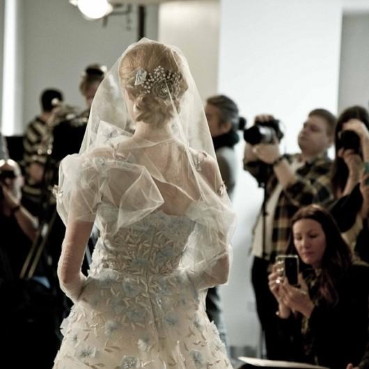 abito da sposa Oscar de la Renta Spring 2014 foto no3_design on Instagram