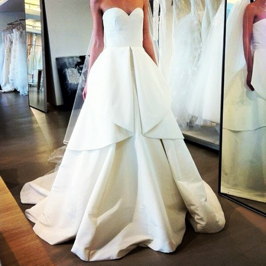 abito da sposa Oscar de la Renta Spring 2014 foto larmoiredelana on Instagram