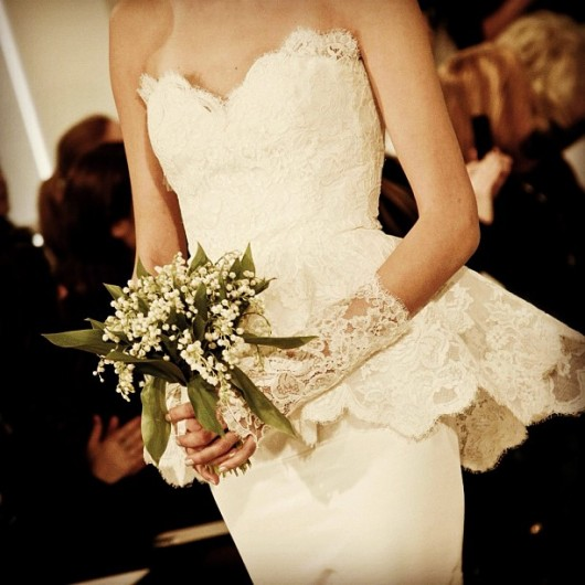 abito da sposa Oscar de la Renta Spring 2014 foto betterinheels on Instagram