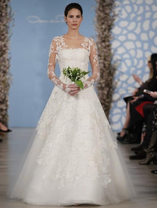 abito da sposa Oscar de la Renta Spring 2014