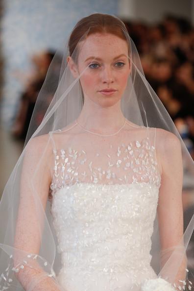 abito da sposa Oscar de la Renta Spring 2014 zimbio