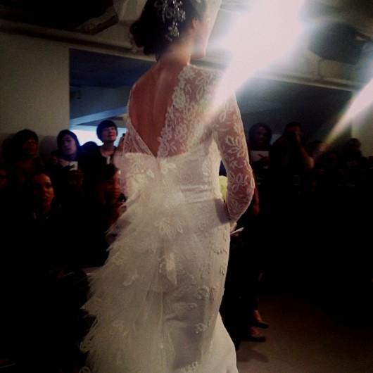 abito da sposa Oscar de la Renta Spring 2014 foto whitehall_nanna on Instagram