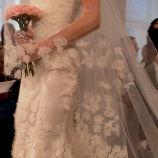 abito da sposa Oscar de la Renta Spring 2014 foto lisagooder on Instagram