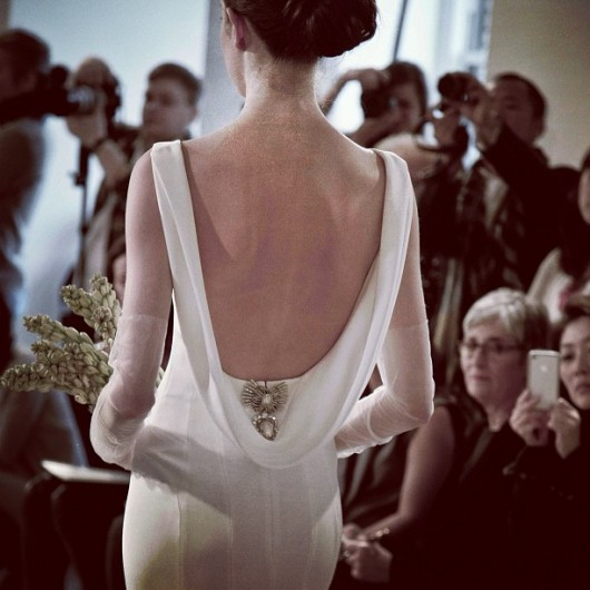 abito da sposa Oscar de la Renta Spring 2014 foto divinestyle_ on Instagram