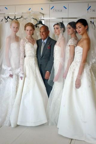 collezione sposa Oscar de la Renta Spring 2014 foto bridesmagazine