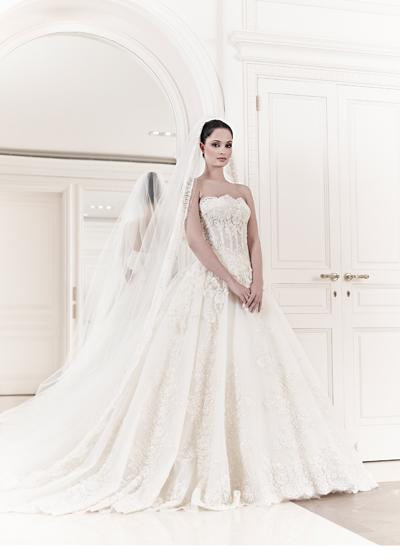 abito da sposa Aurelia Zuhair Murad Spring 2014