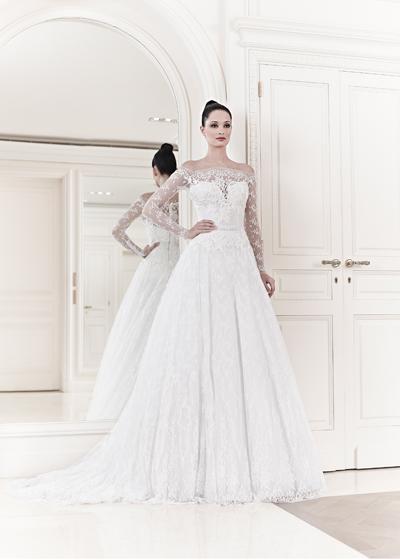 abito da sposa Aurora Zuhair Murad Spring 2014