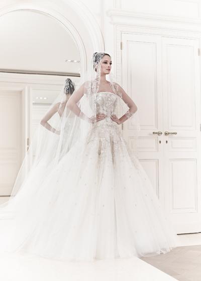 abito da sposa Emma Zuhair Murad Spring 2014