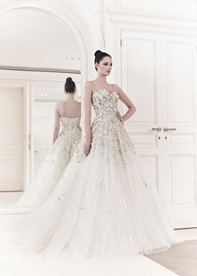 4c23605c52db Preziosa e romantica la sposa haute couture Zuhair Murad Spring 2014