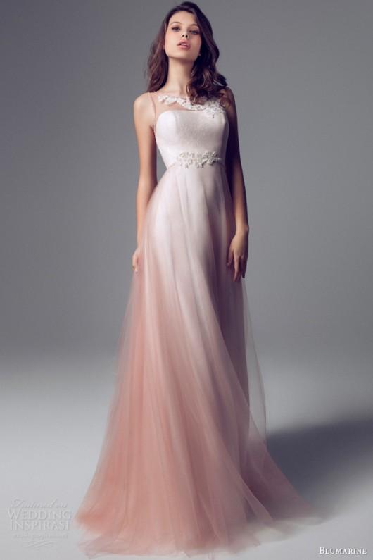 Assez Delicata come un fiore la sposa Blumarine 2014 in rosa e bianco  DS02