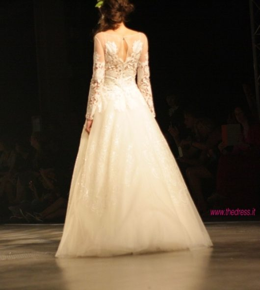 abito da sposa David Fielden Spring 2014 foto thedress.it