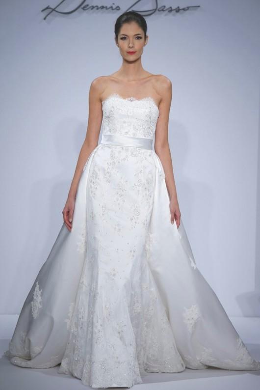 abito da sposa Dennis Basso Spring 2014
