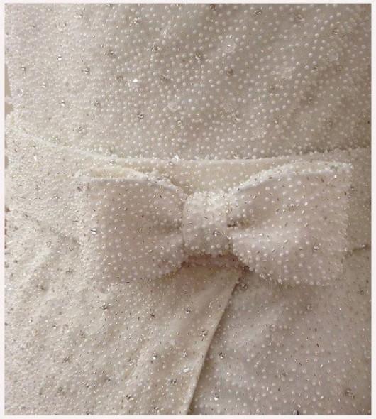 abito da sposa Dennis Basso Spring 2014 foto Kleinfeld Bridal