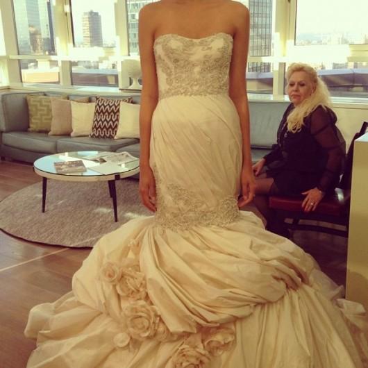 abito da sposa Aella Ines di Santo Fall 2014 foto juliesavage