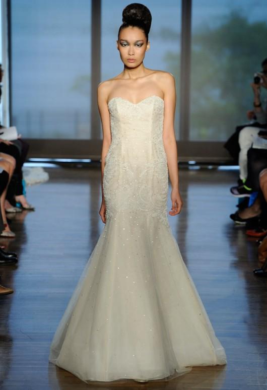 abito da sposa Alexa Ines di Santo Fall 2014