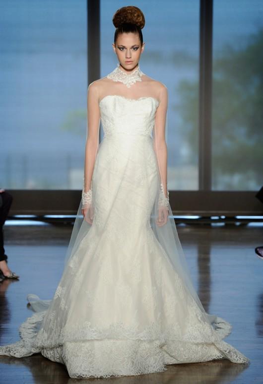 abito da sposa Celadine Ines di Santo Fall 2014