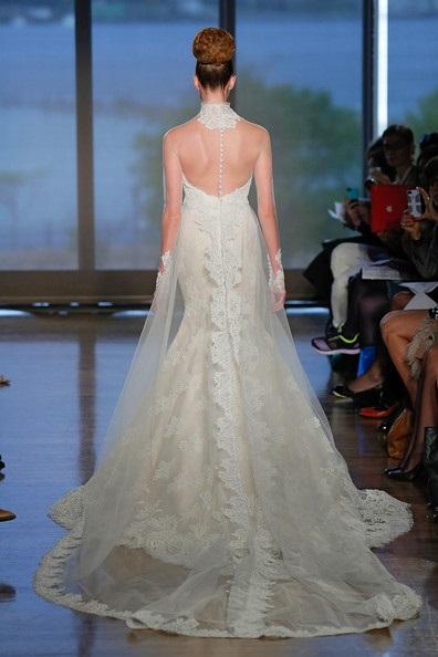 abito da sposa Celadine Ines di Santo Fall 2014 foto zimbio