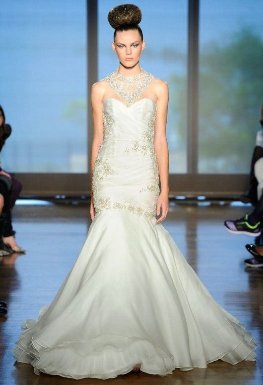 abito da sposa Cybelle Ines di Santo Fall 2014