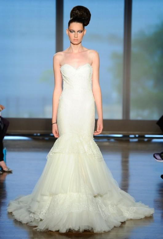 abito da sposa Delia Ines di Santo Fall 2014